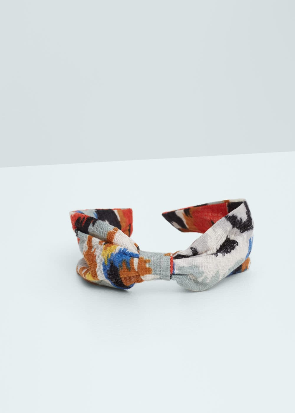 Bow printed hairband | MANGO