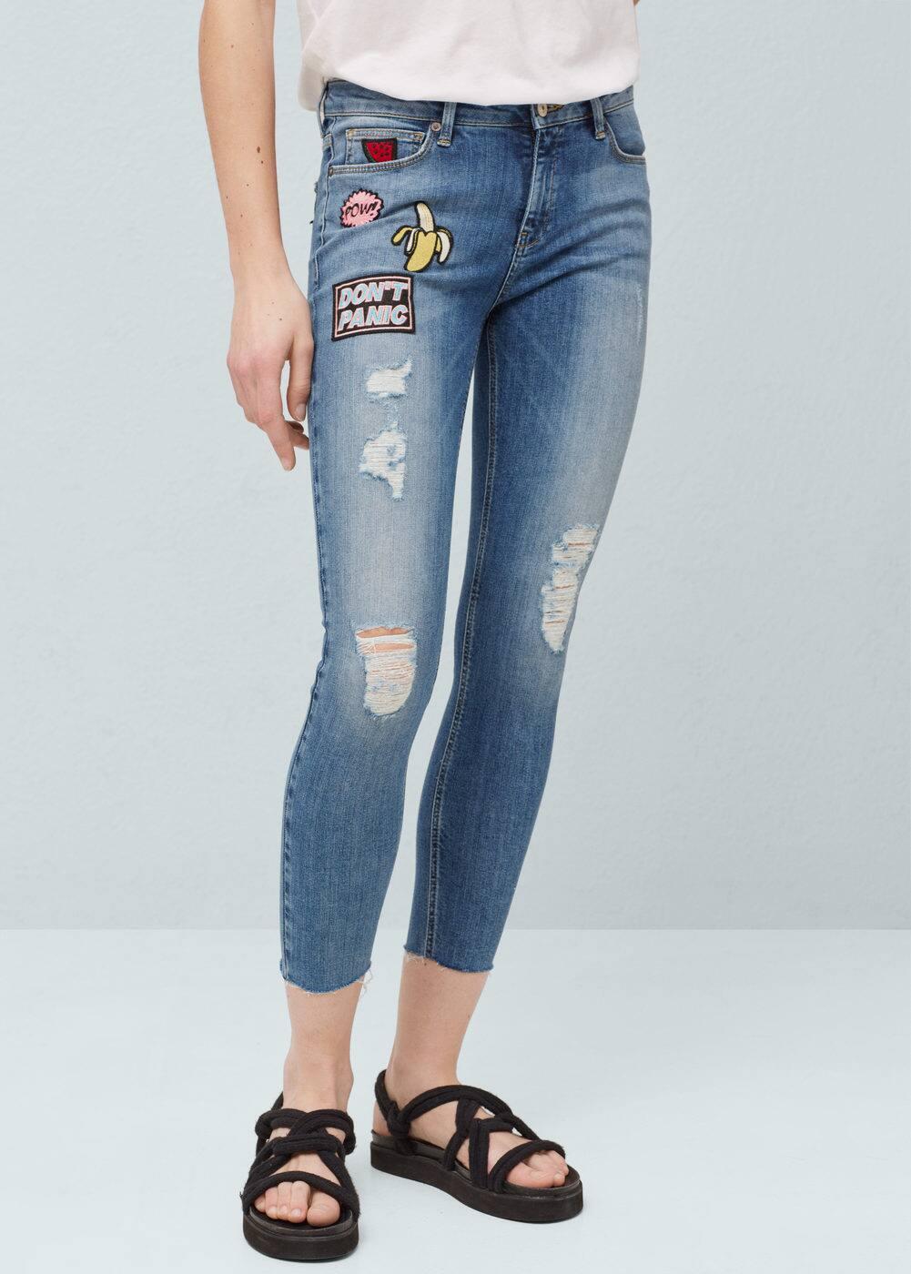 Mango jeans skinny regular waist