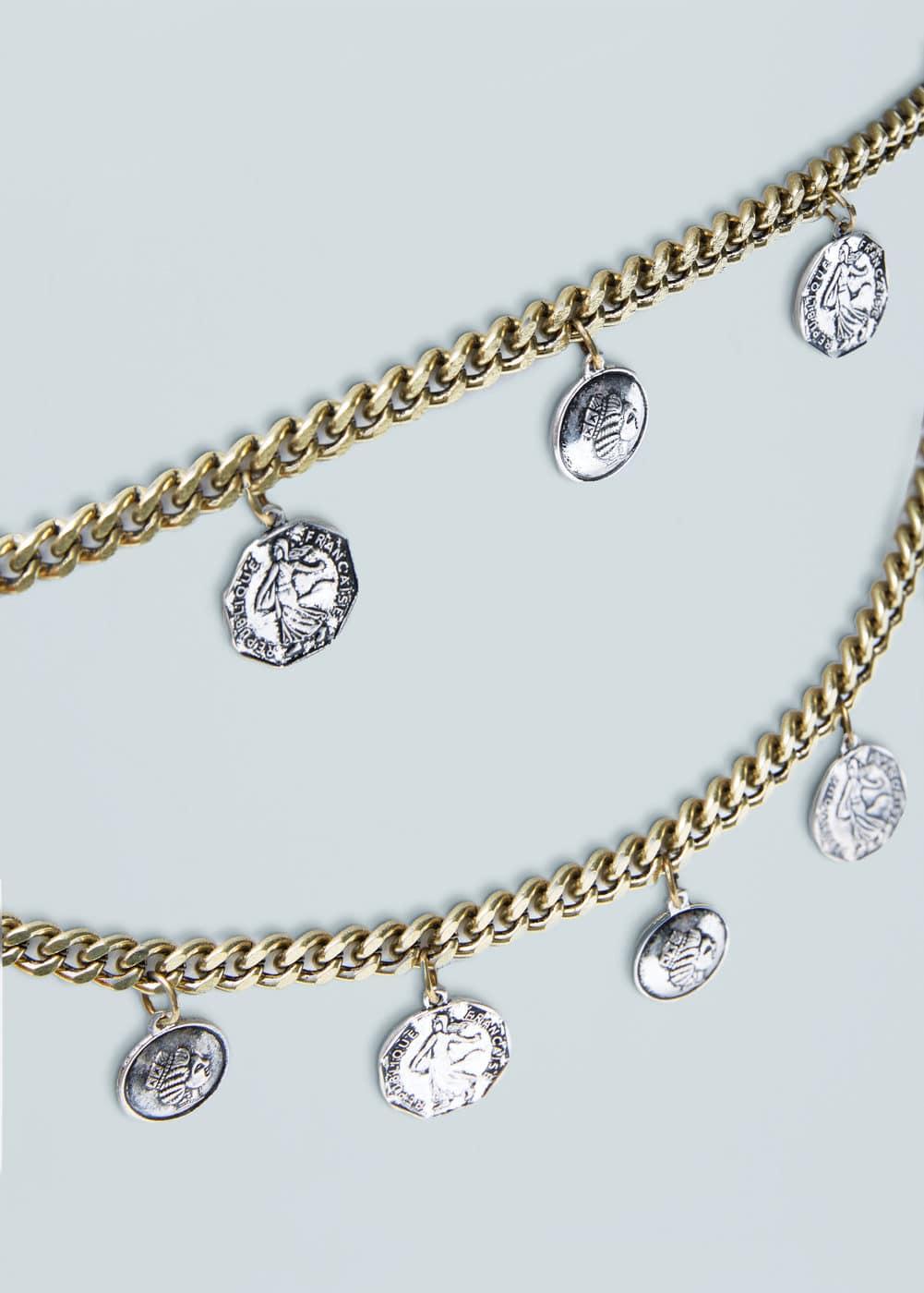 Coins chain belt   MANGO
