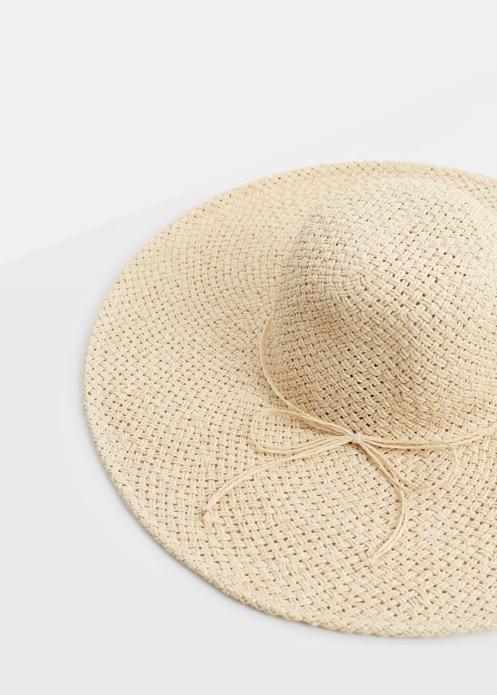 Straw hat | VIOLETA BY MANGO