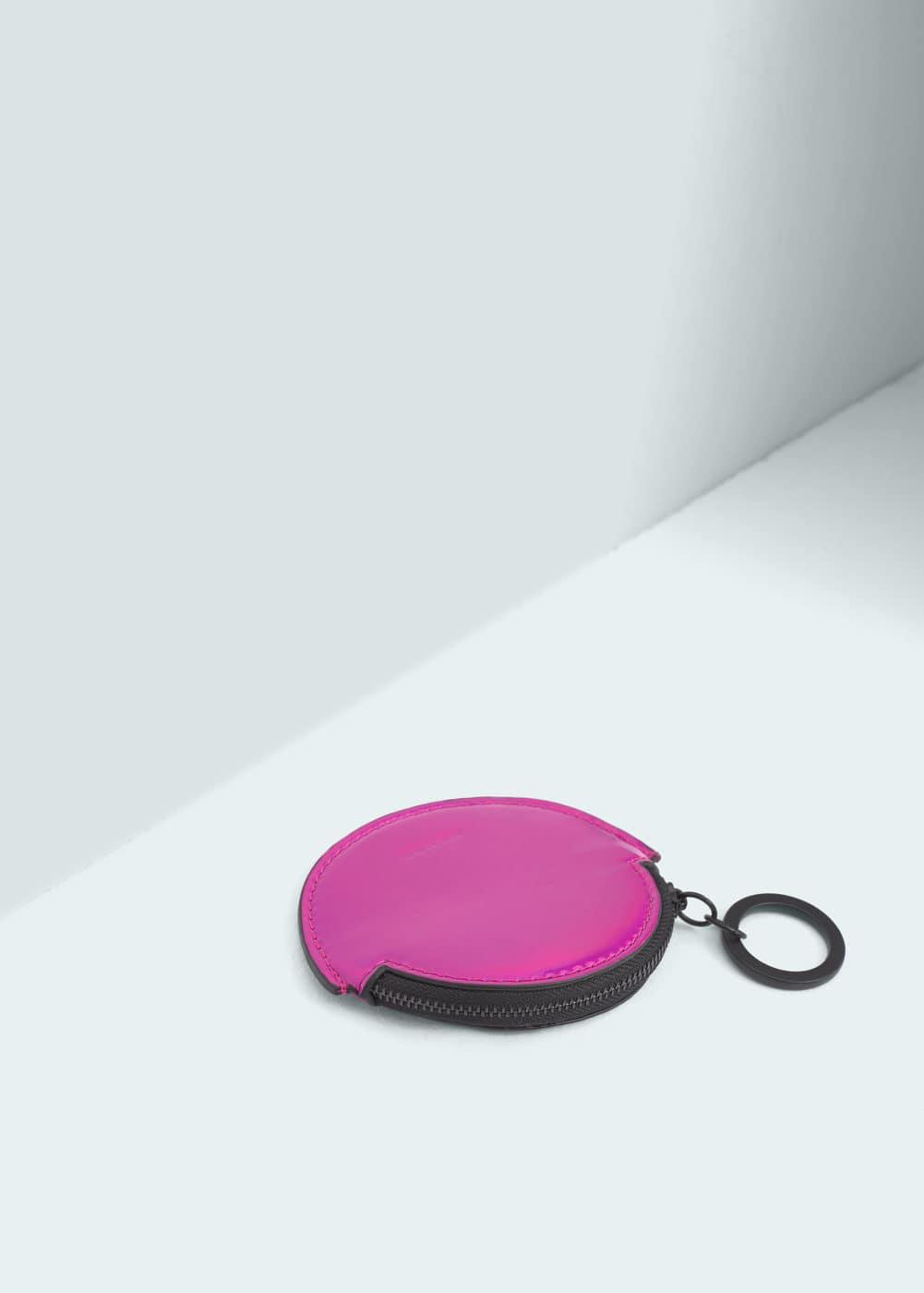 Round coin purse | MANGO