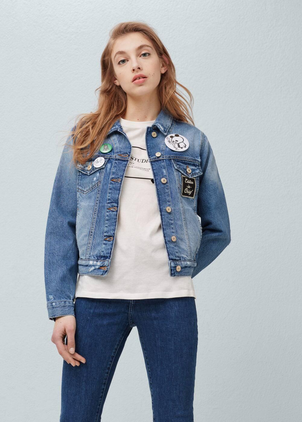Medium denim jacket | MANGO