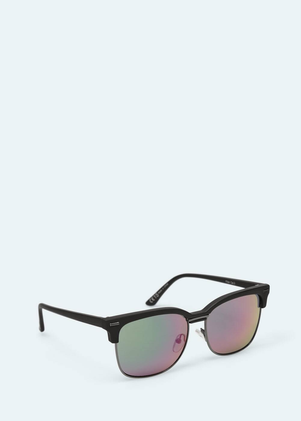 Mirrored lenses sunglasses | MANGO MAN