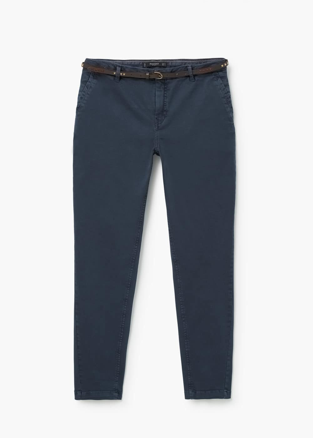 7542389ff9 Pantalon chino coton - Femme | Mango France
