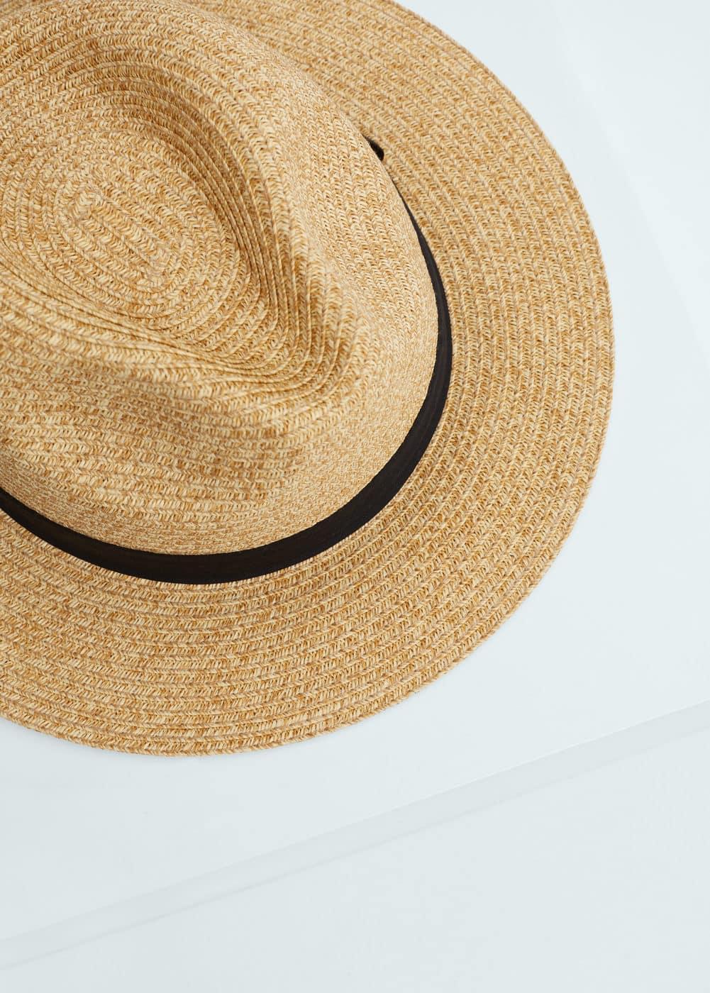 Straw hat | MANGO