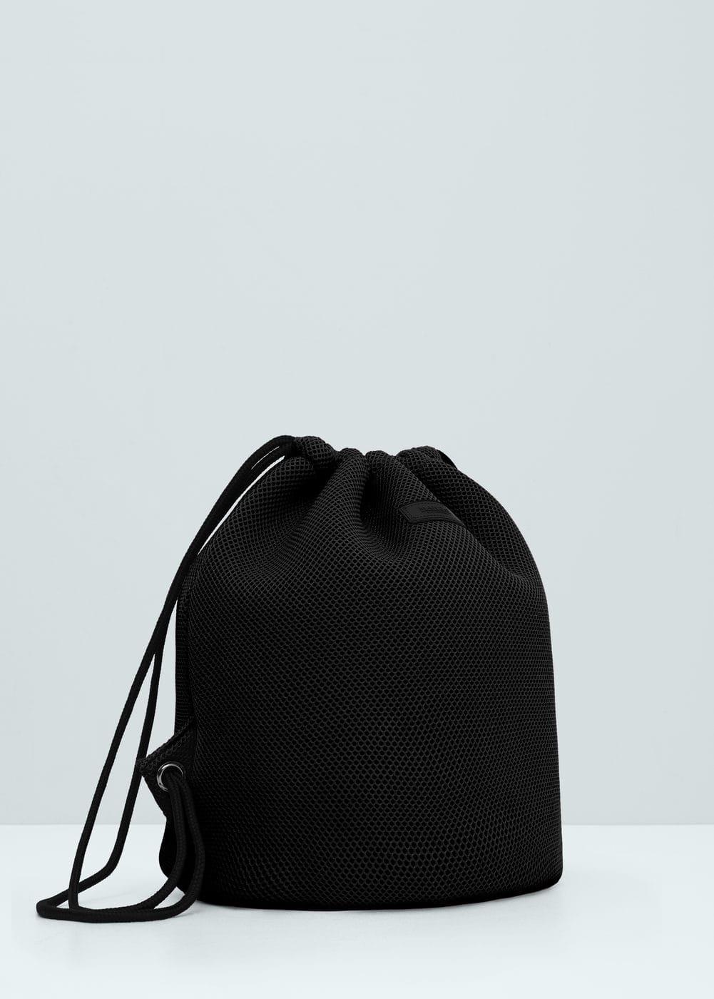 Net backpack | MANGO