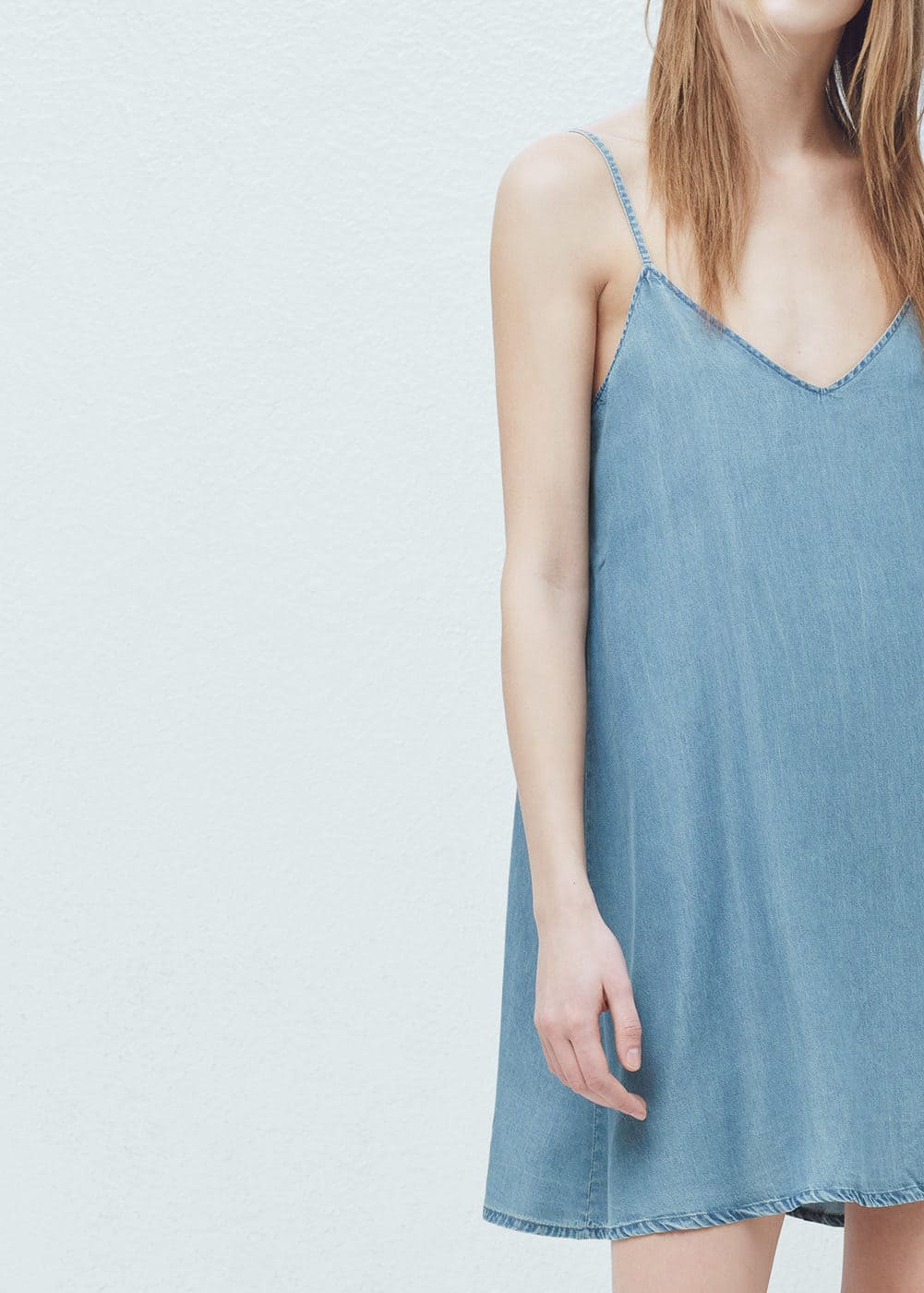 Denim dress | MANGO