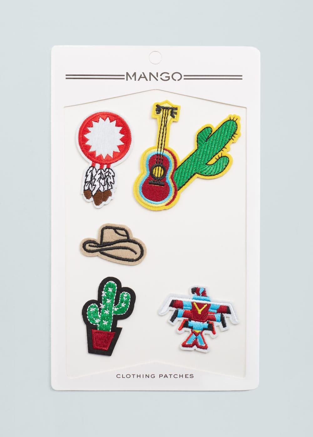 Clothing patches | MANGO
