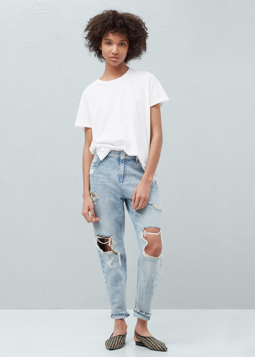 Relaxed tina jeans | MANGO