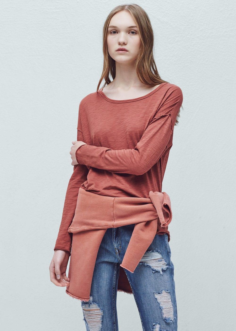 Essential cotton t-shirt | MANGO