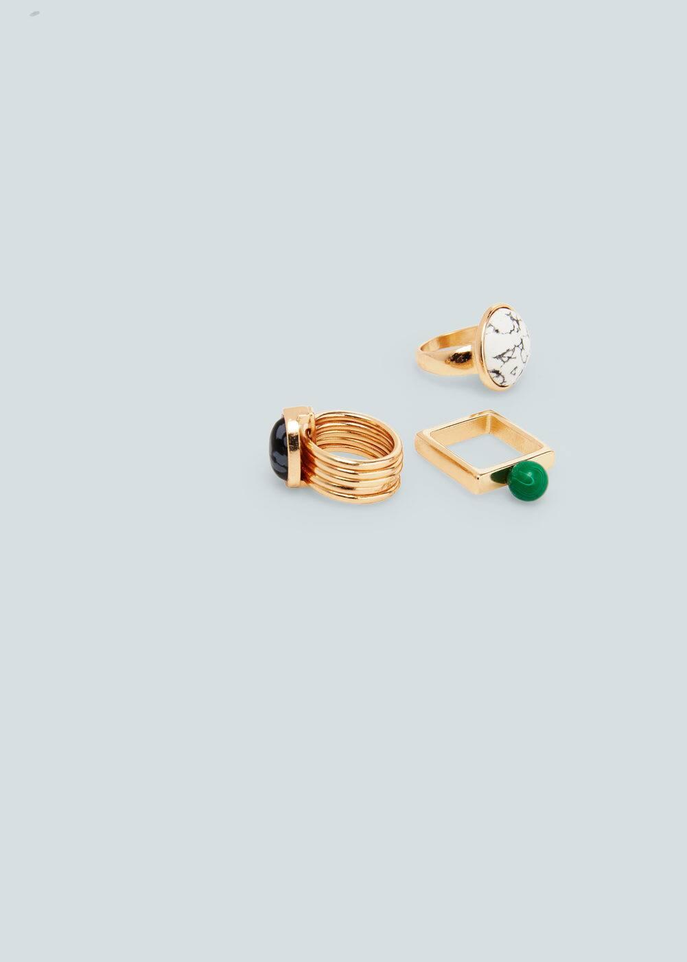 Geometric ring set   MANGO