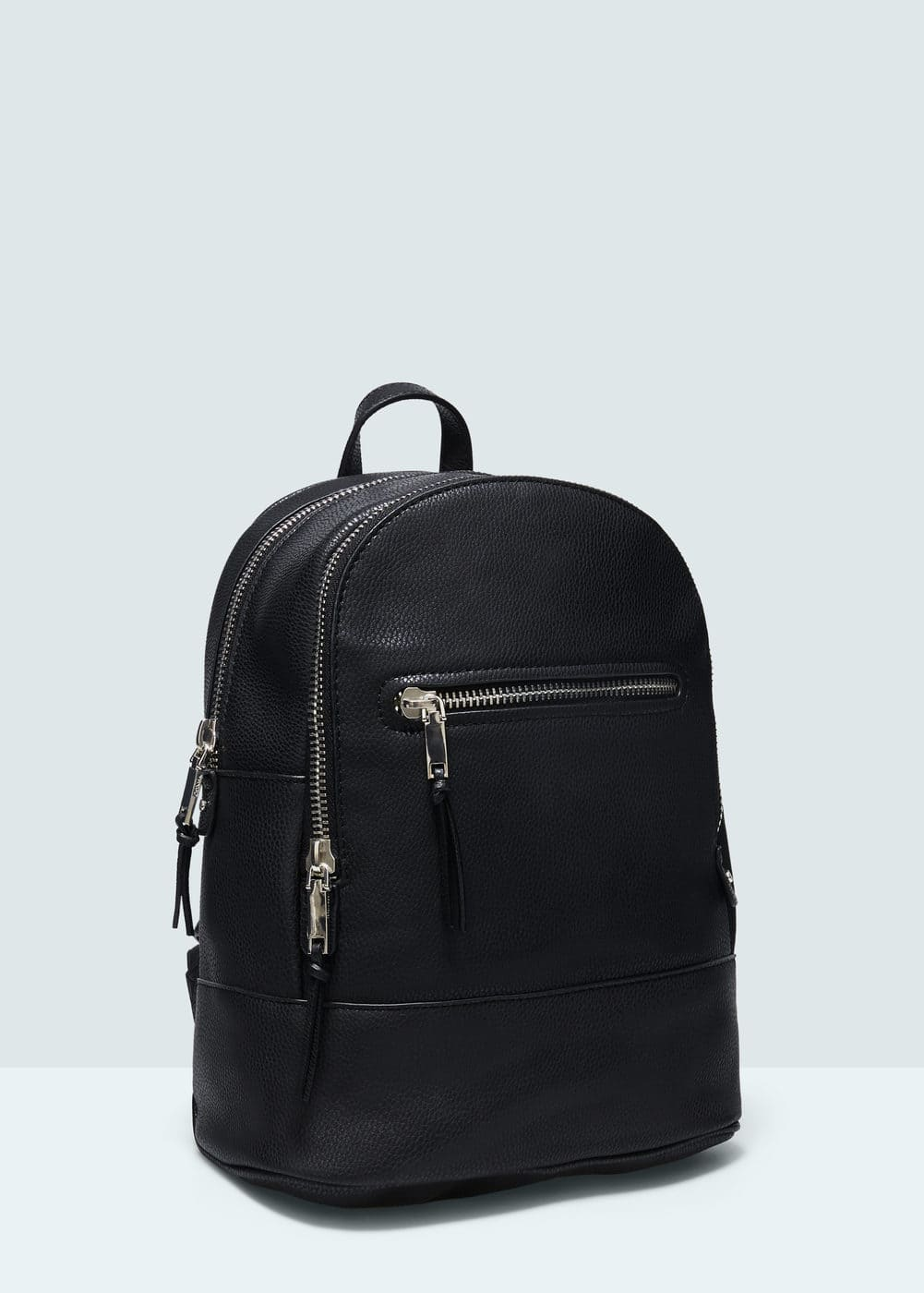 Zipped backpack | MANGO