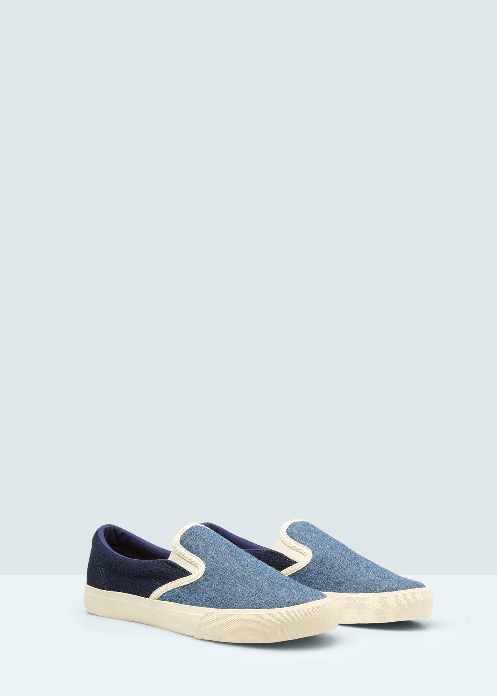 Buty sportowe z elastycznymi wstawkami | MANGO MAN