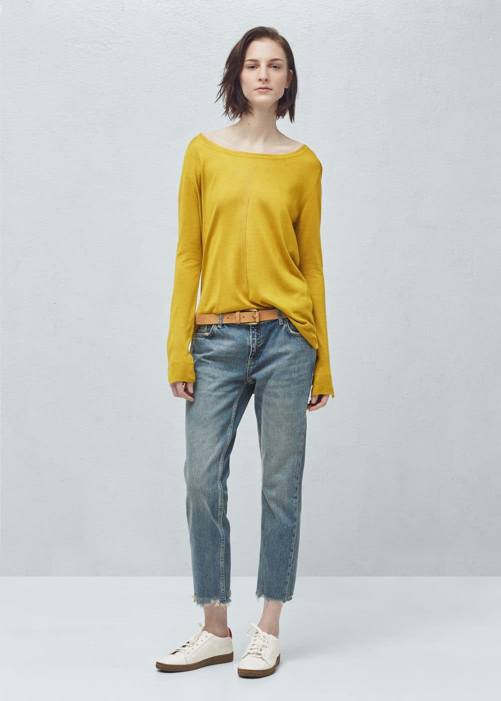 Fine-knit sweater   MANGO