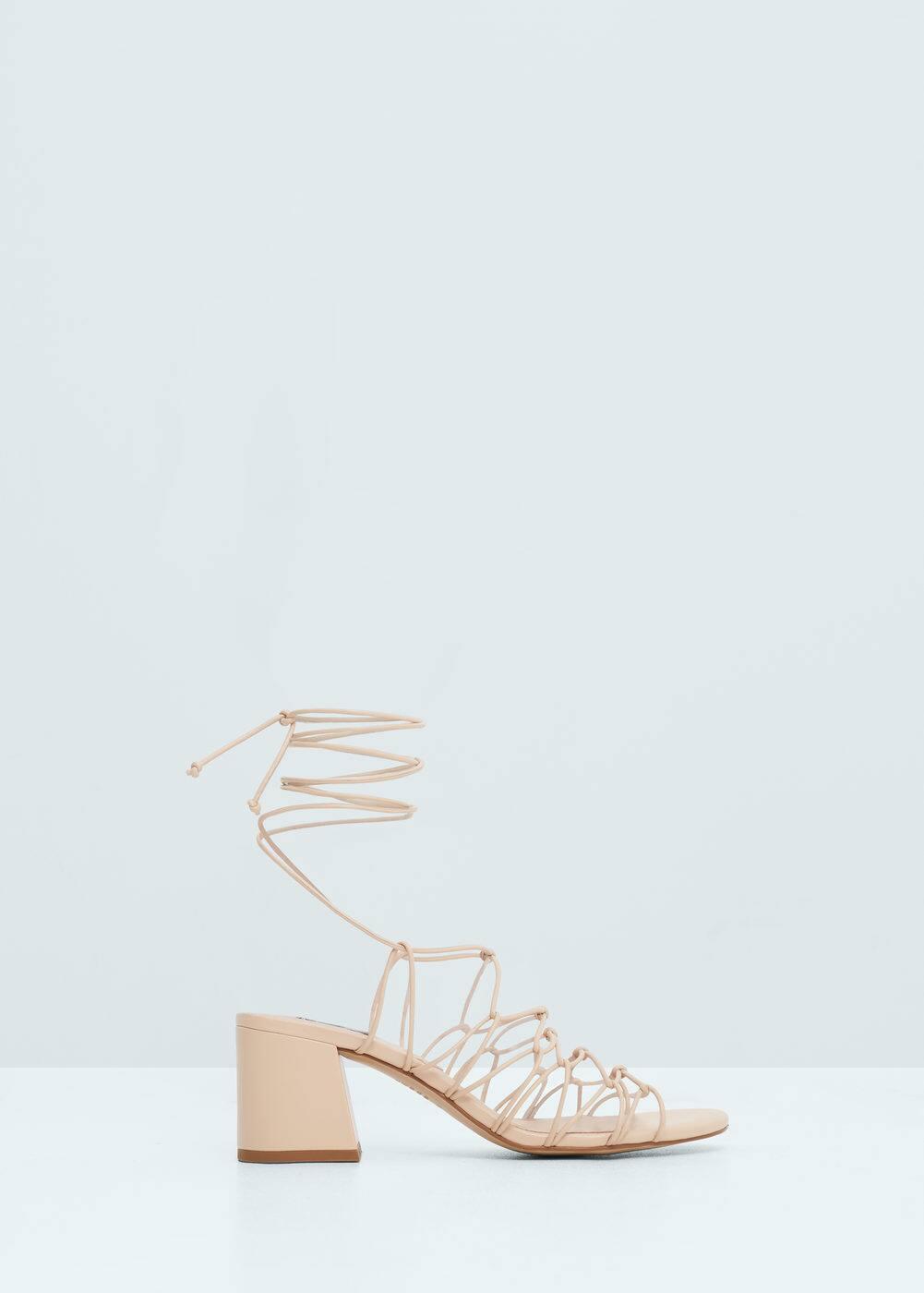 Strap cord sandals | MANGO