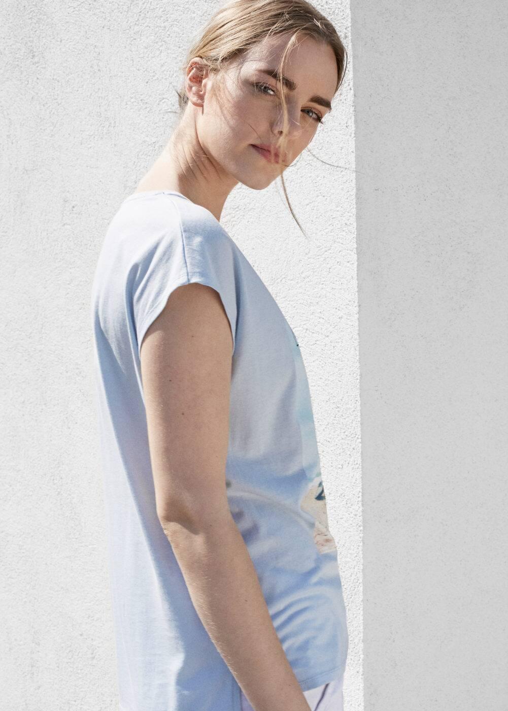 Image cotton t-shirt | VIOLETA BY MANGO