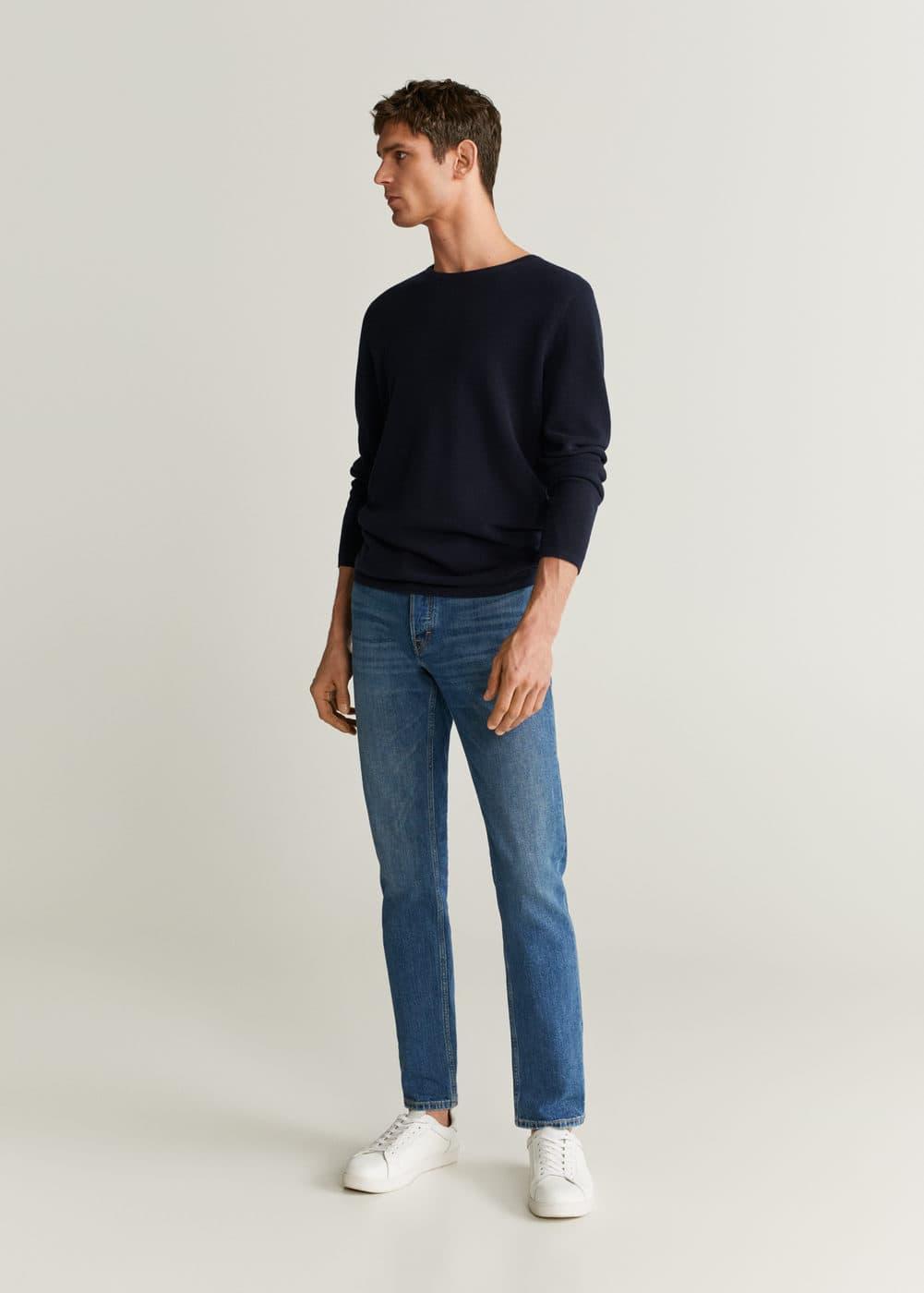 h-tim5:jeans tim slim fit lavado medio