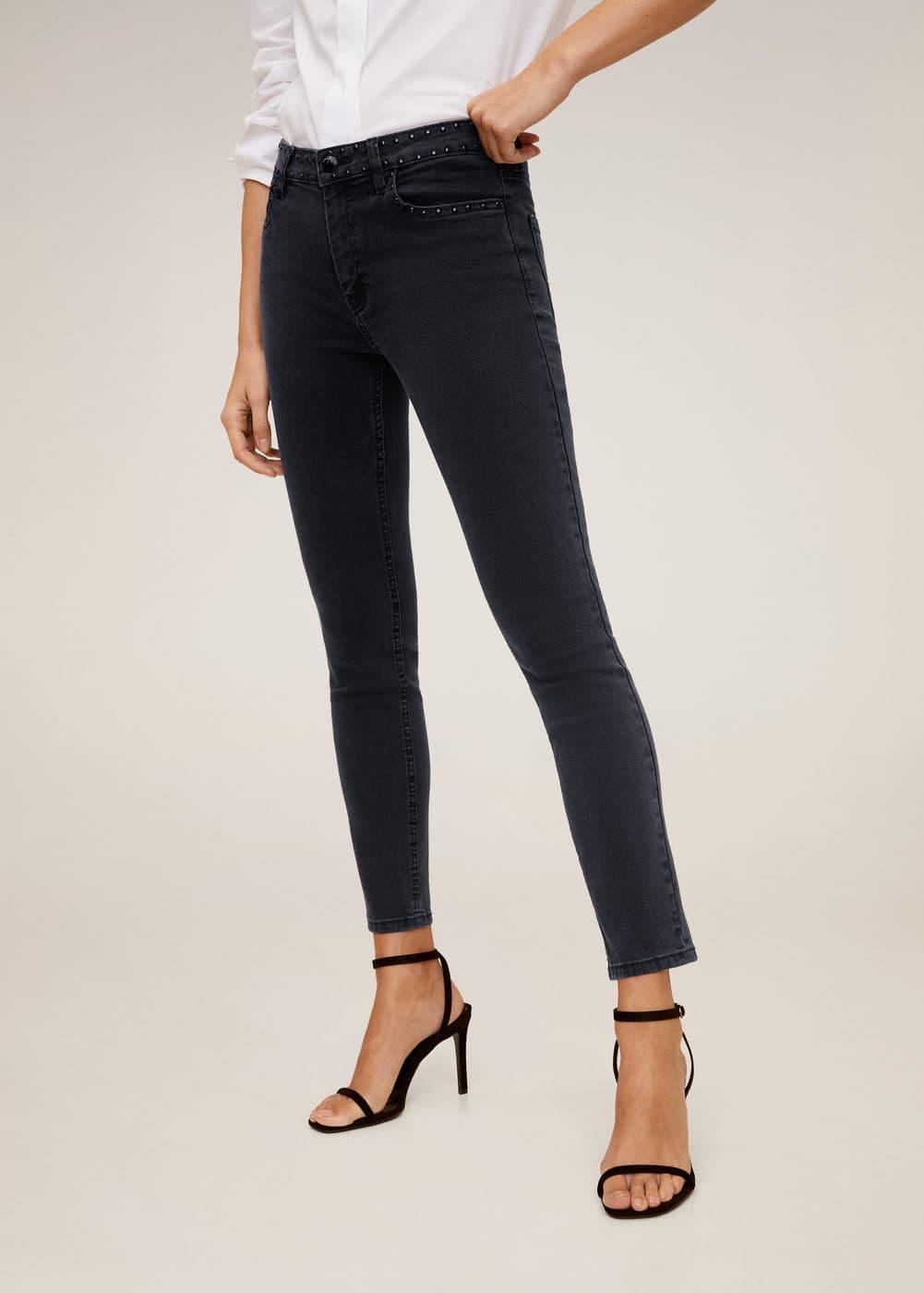 m-studs:jeans skinny tachuelas