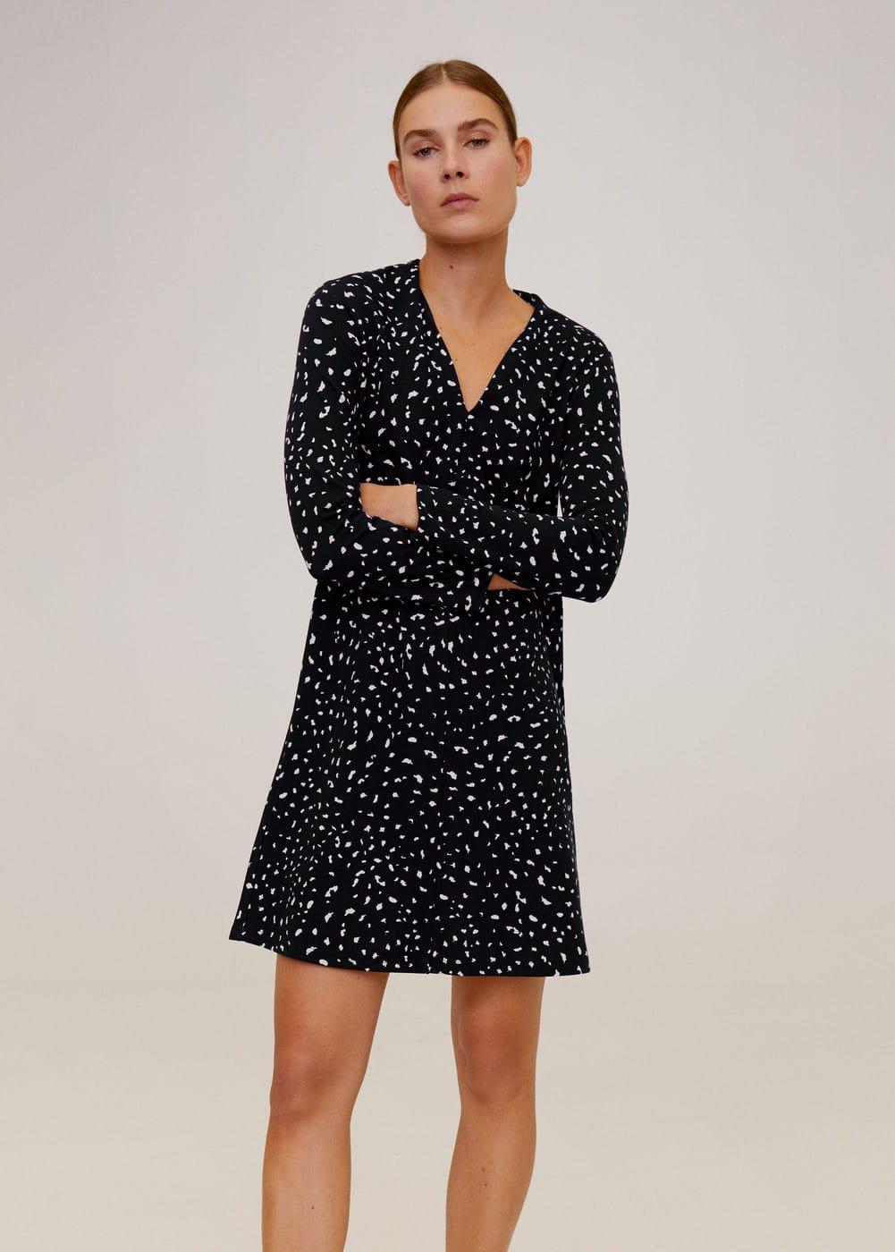 m-veldu6:vestido estampado corto