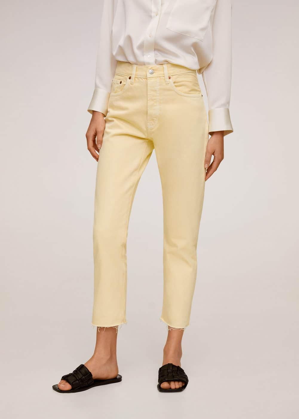 m-havana:jeans straight fit crop