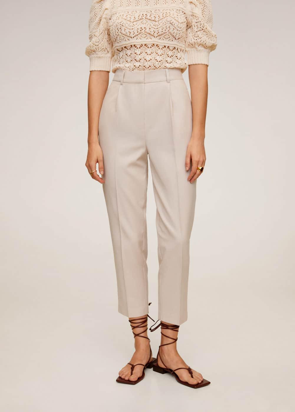m-duke:pantalon lyocell pinzas