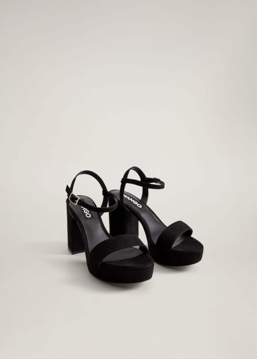 m-adore:sandalia pulsera plataforma