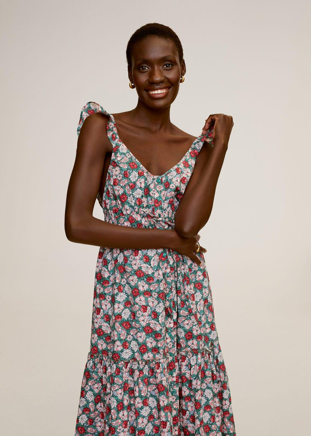 m-goa:vestido largo floral