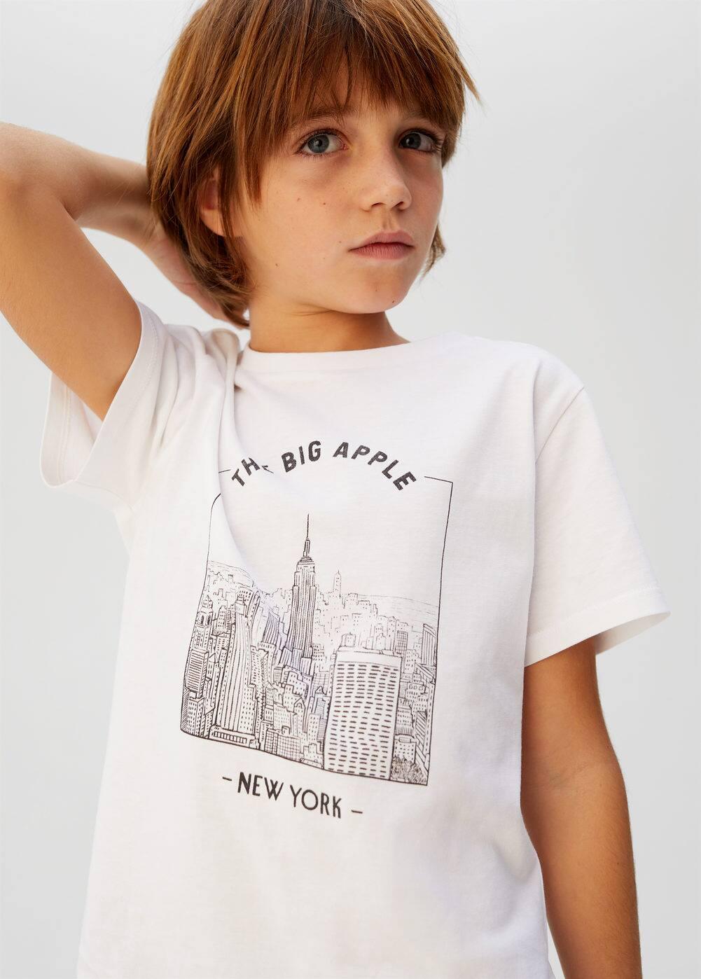 o-cities6:camiseta estampada algodon