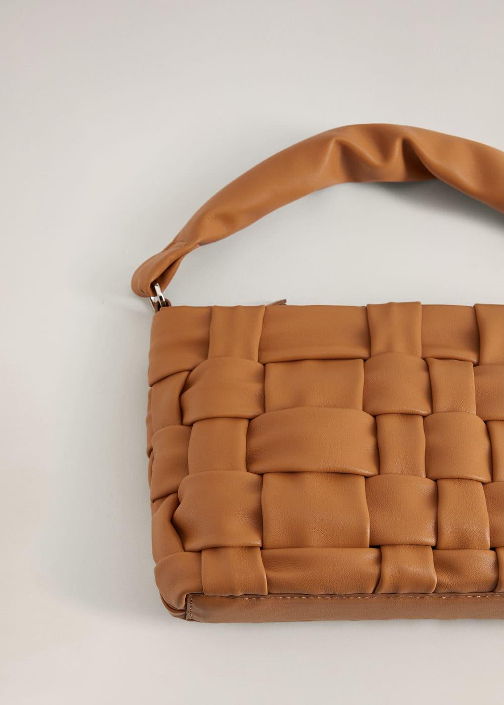 m-noya:bolso diseno trenzado