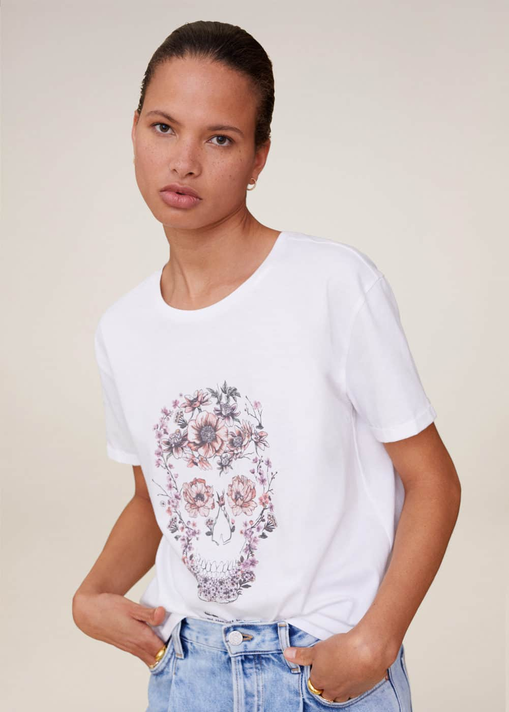 m-psskull:camiseta ilustracion estampada