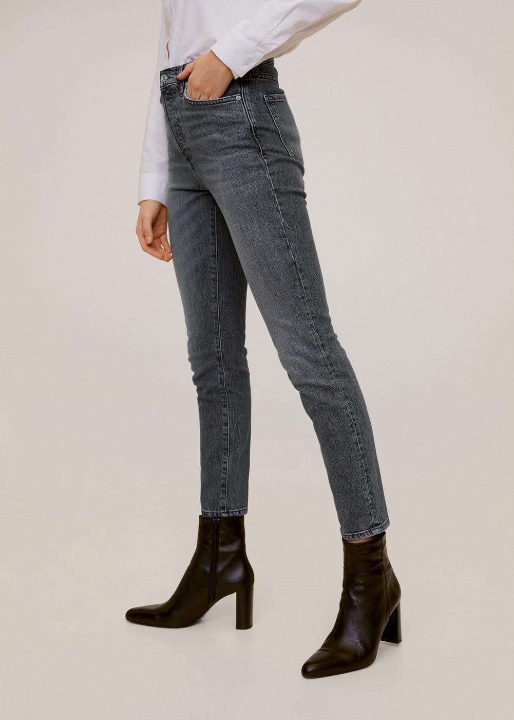 m-gisele:jeans high waist slim gisele