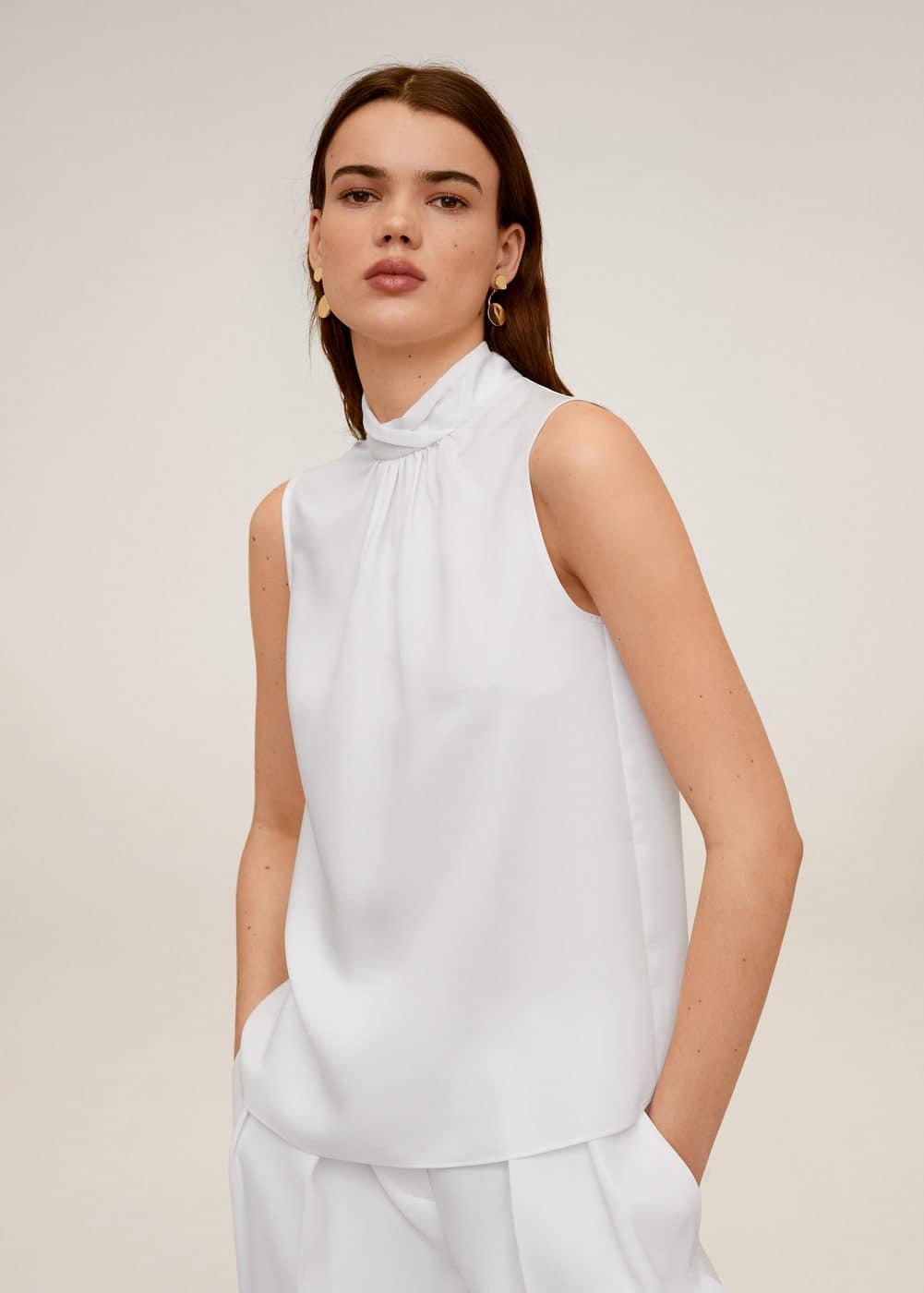 m-empire6:blusa detalle pliegues