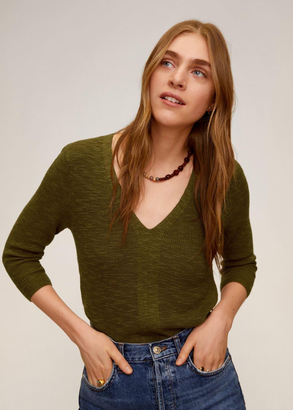 m-saeta:jersey escote pico