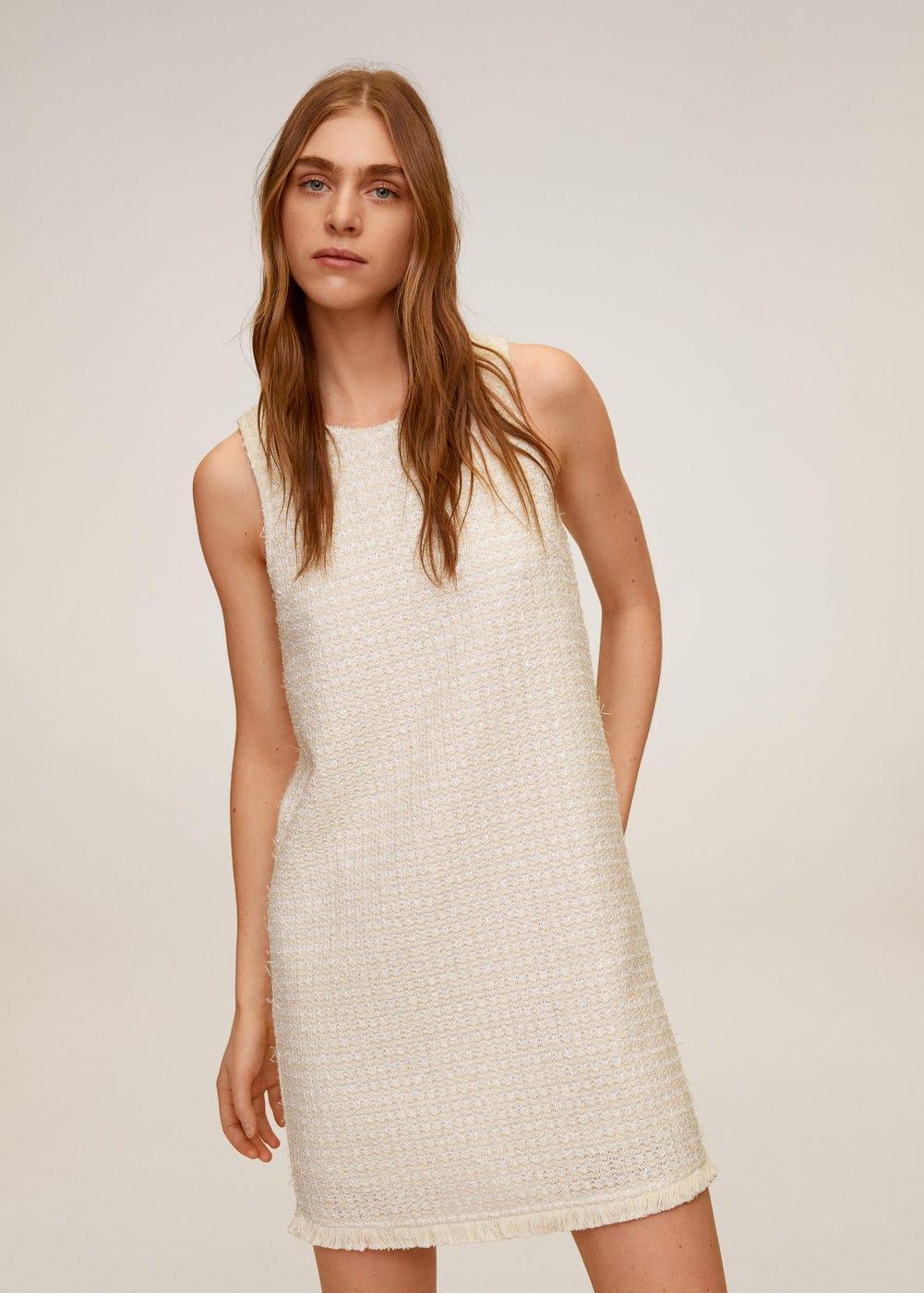 m-jacab6:vestido tweed