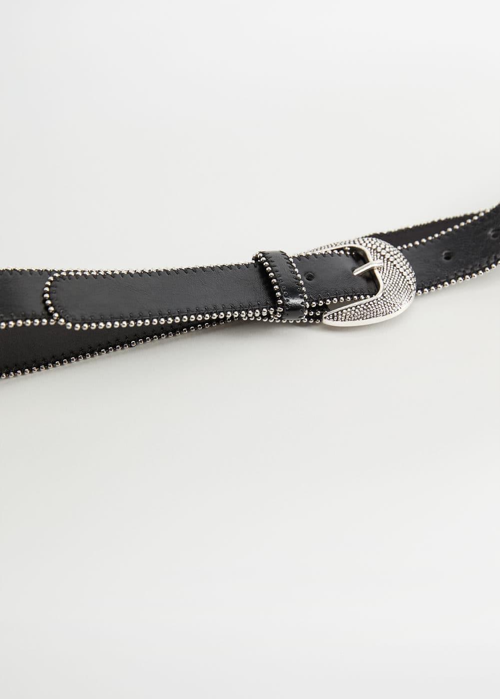 Cintura Dettagli Metallizzati by Mango