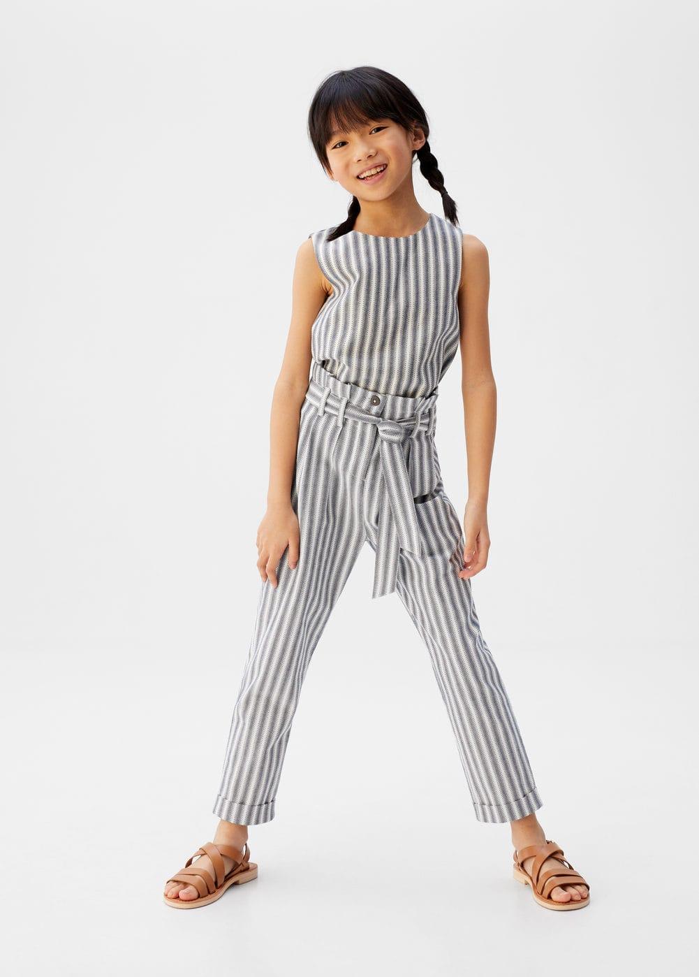 a-ona:pantalon recto rayas