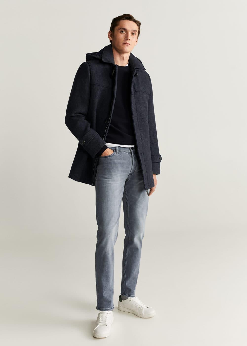 h-jan6:jeans jan slim fit grises