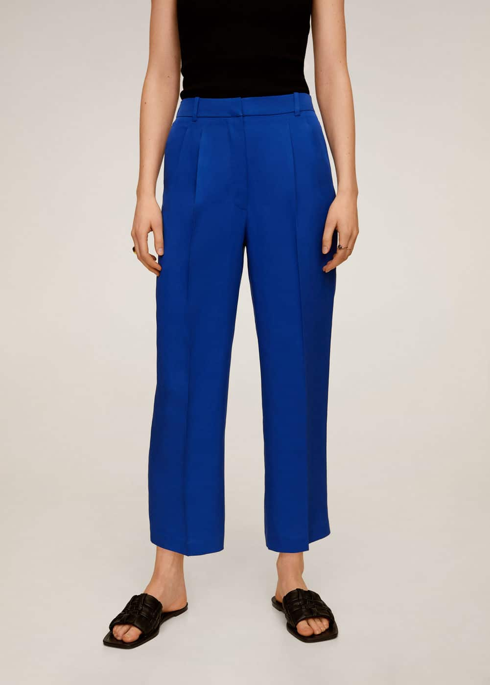 m-monaco:pantalon detalle pinzas