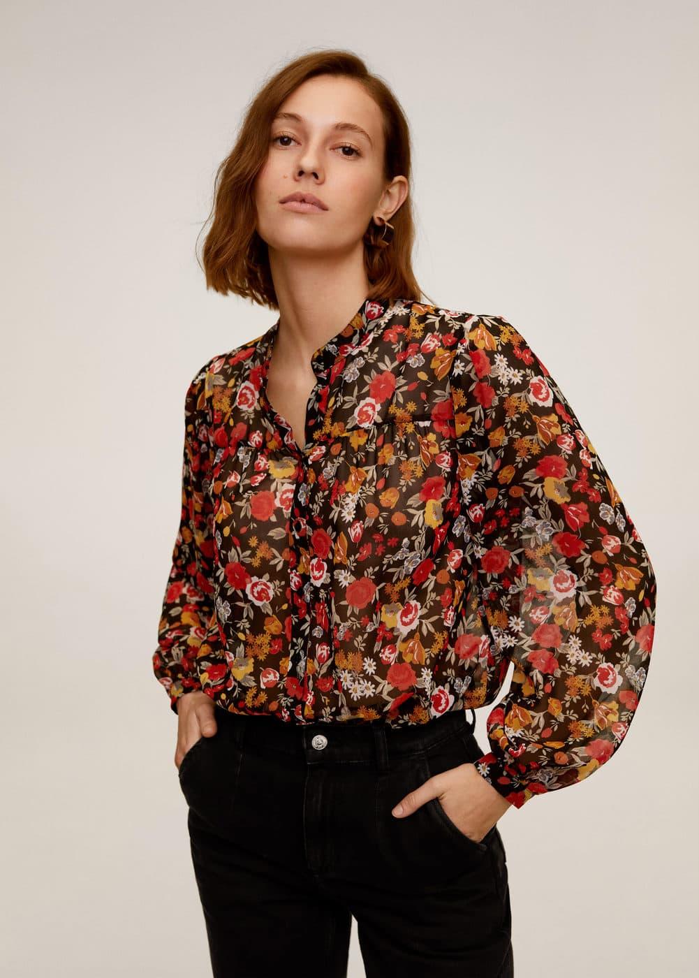m-winona2:blusa estampado flores