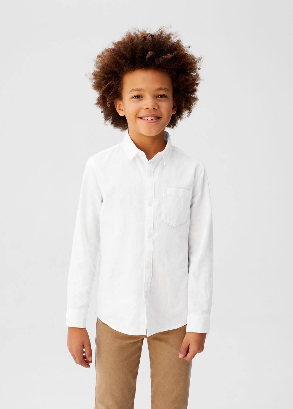 o-madi:camisa slim-fit algodon pique