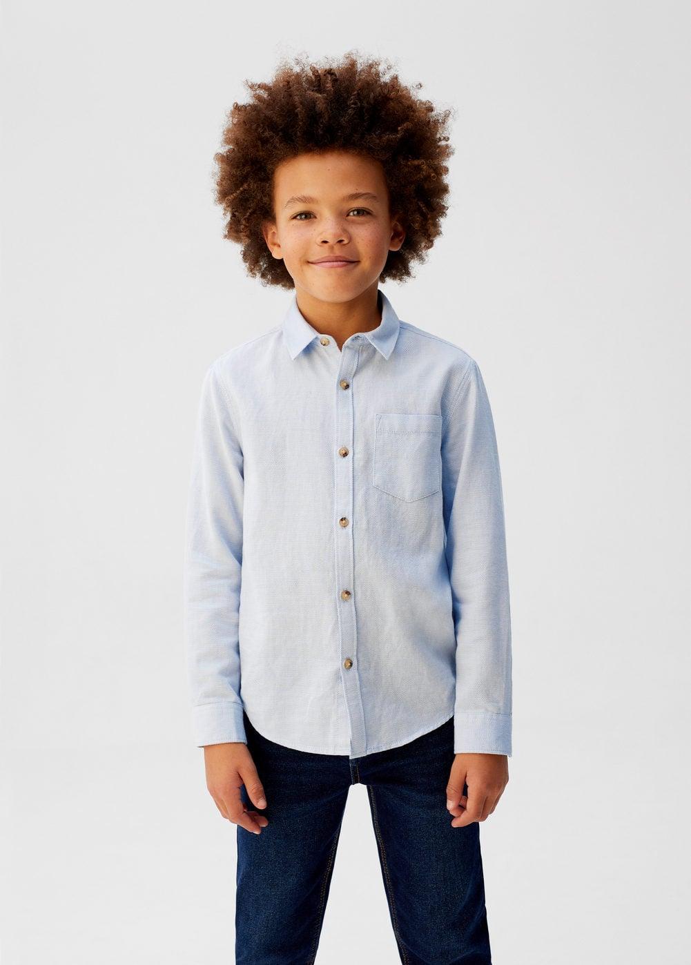 o-brenni:camisa pique algodon