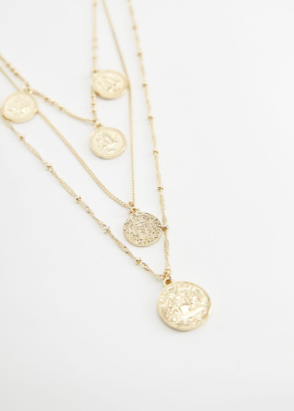 m-claire:collar monedas