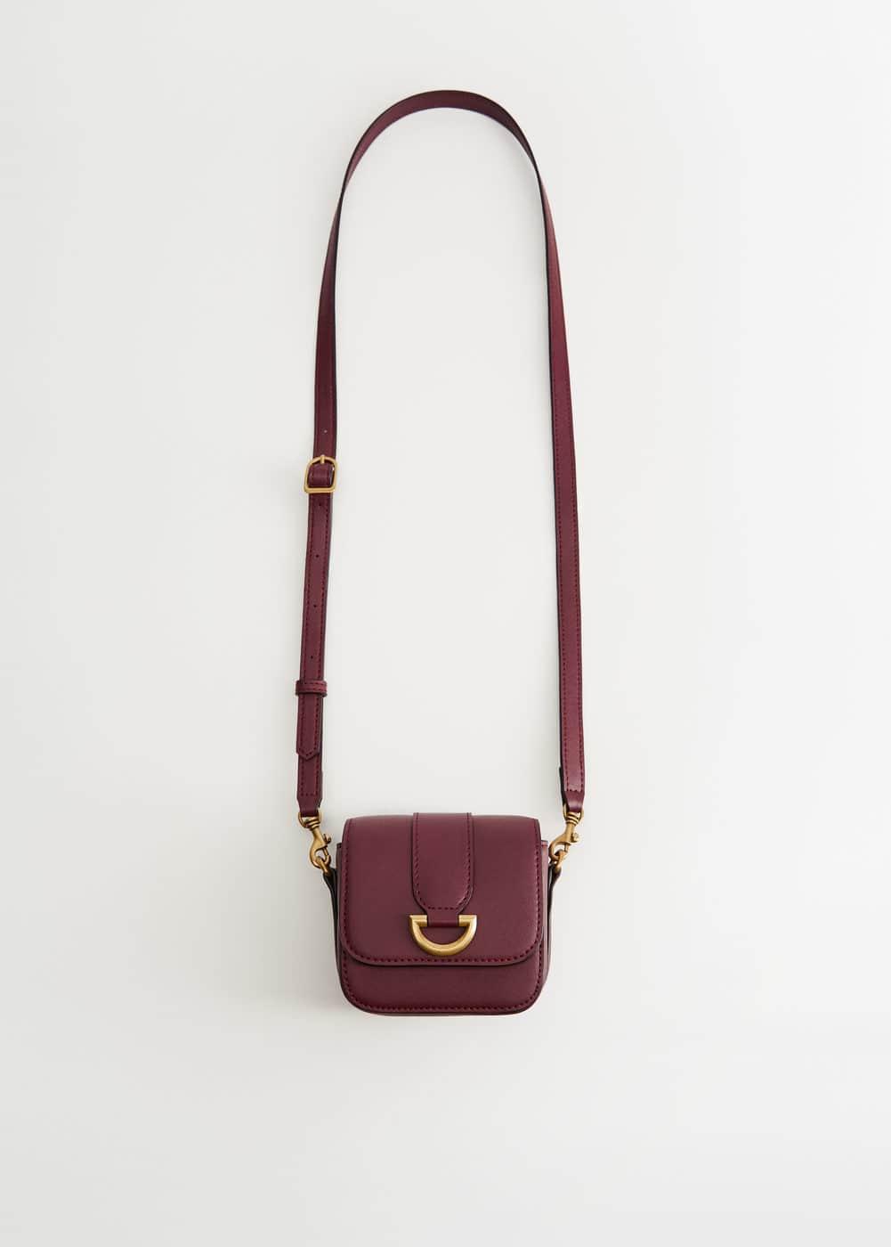 Mini çapraz çanta by Mango