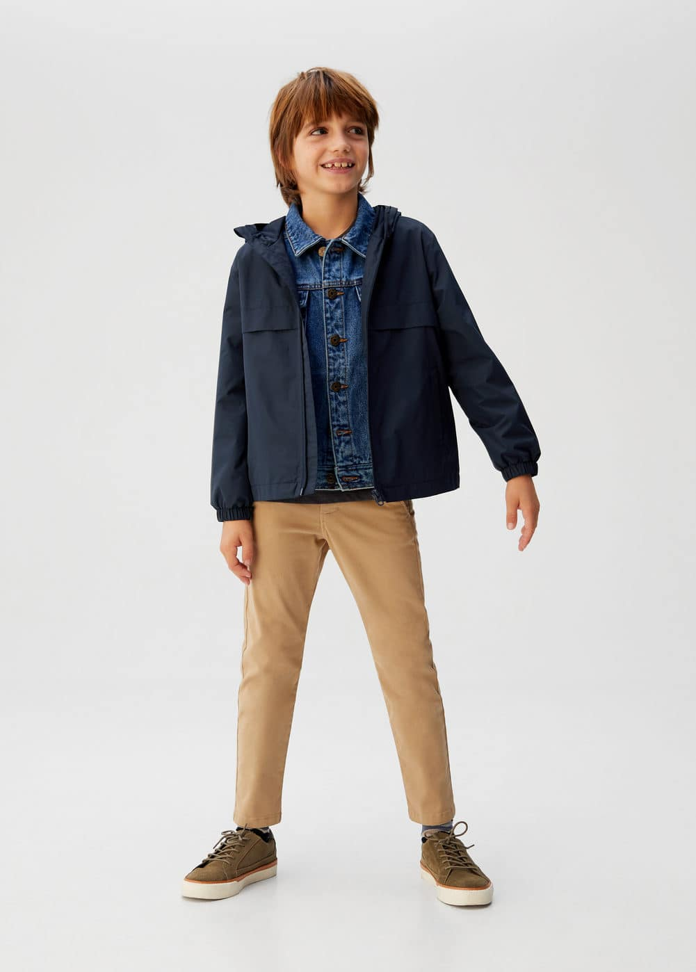 o-chicago6:chaqueta impermeable capucha