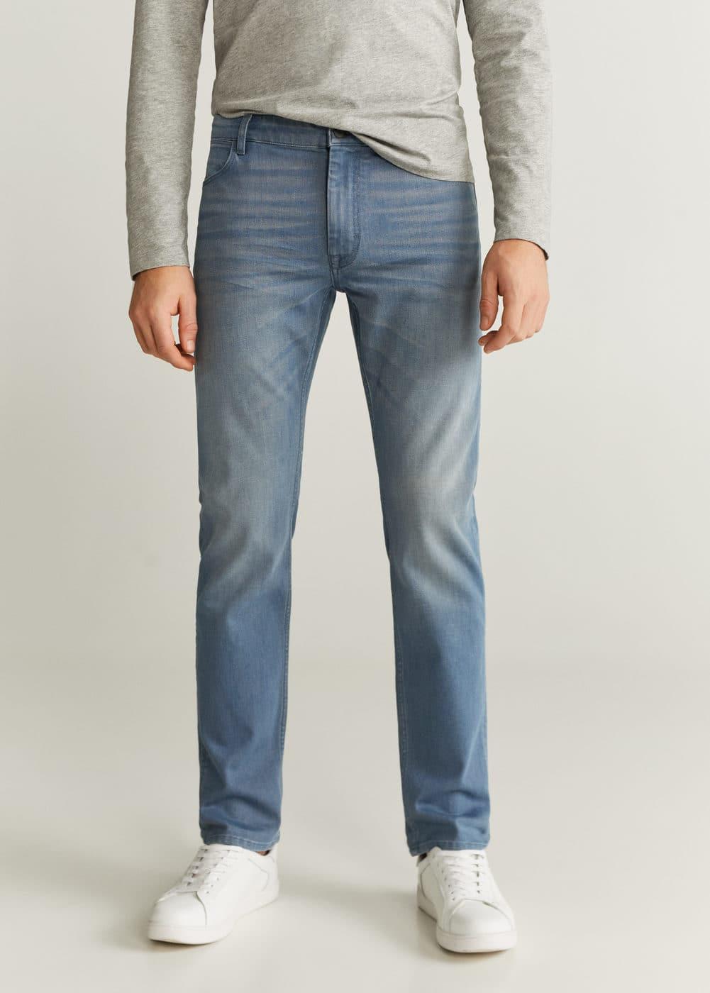 h-patrick6:jeans patrick slim fit lavado medio