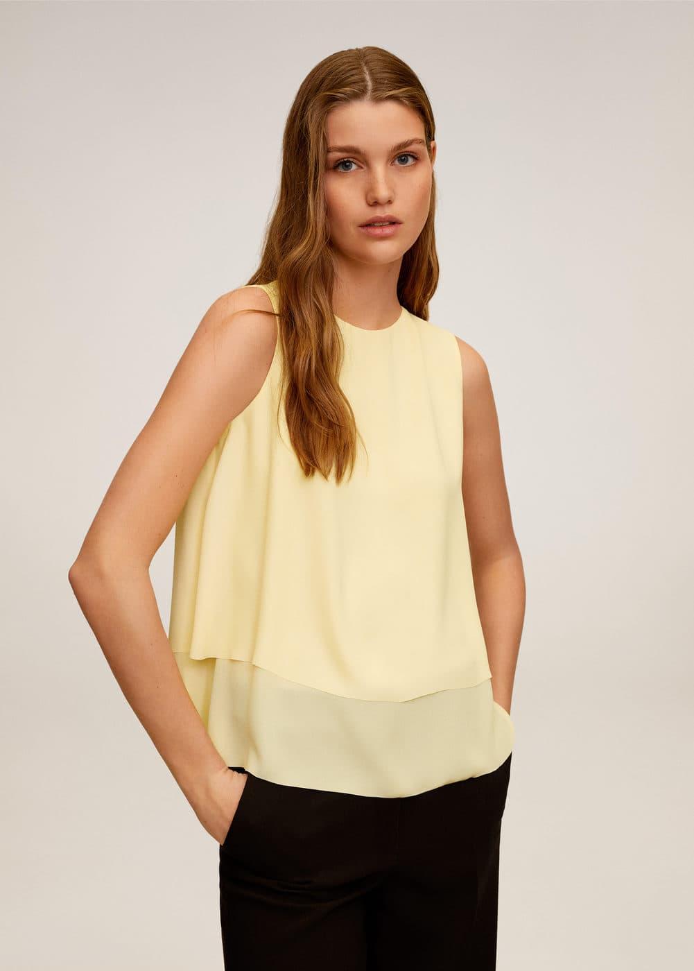 m-maracuya:blusa fluida