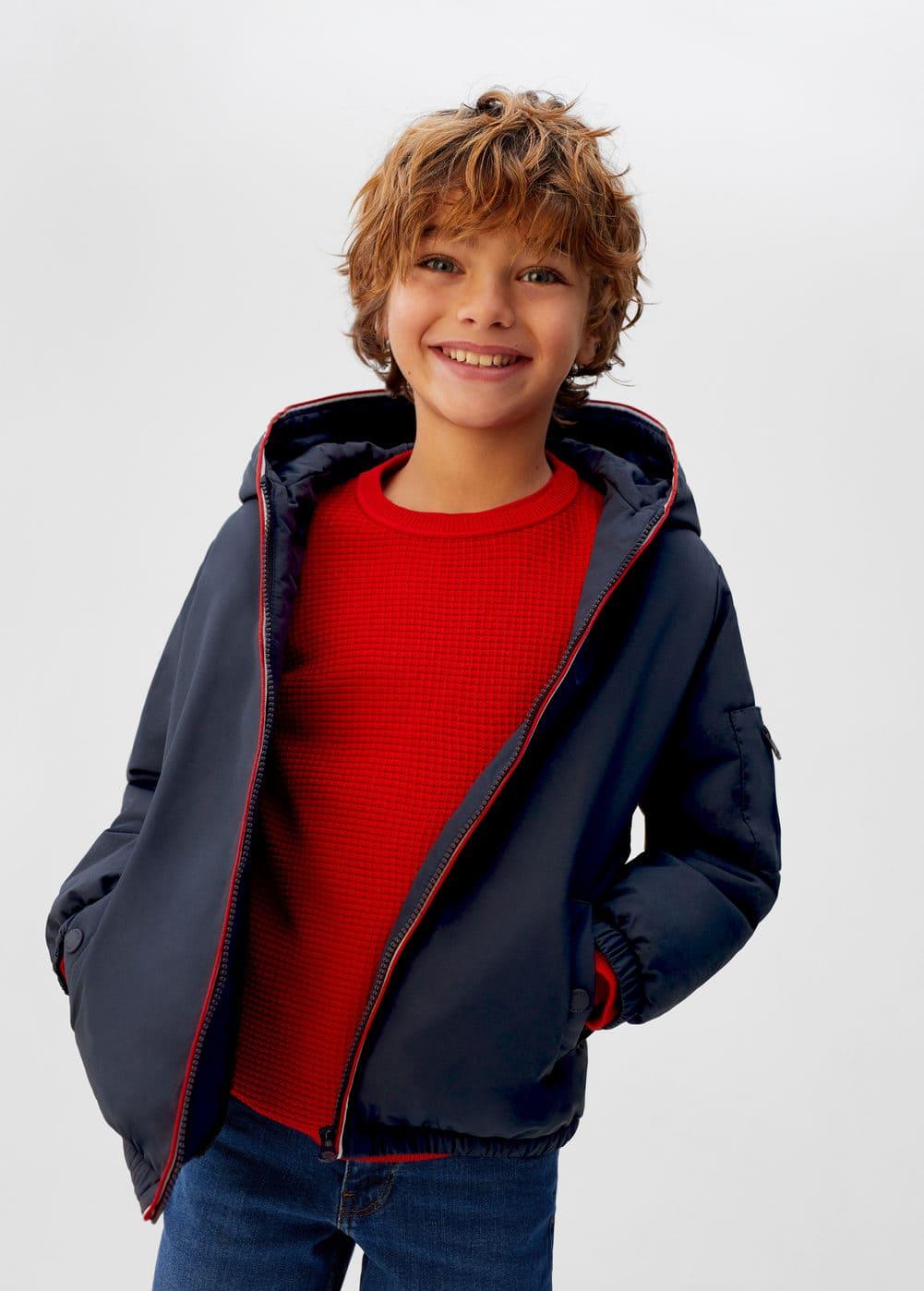 o-noha6:chaqueta capucha interior borreguito
