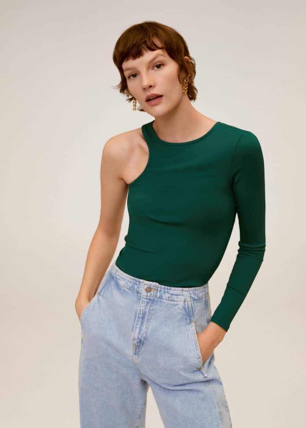m-cut:camiseta canale asimetrica