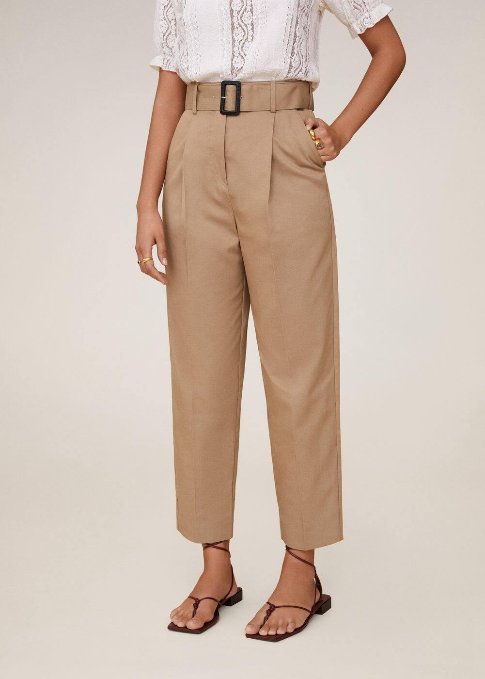 m-cesi:pantalon recto cinturon