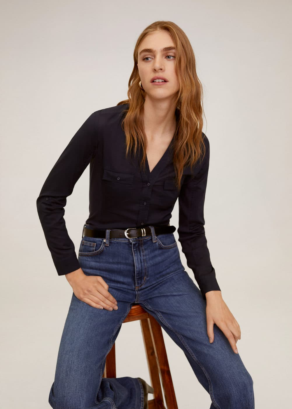 m-planita-n:camisa algodon bolsillos